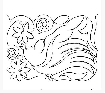 Bird in Garden 2